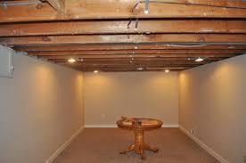 best basement lighting. Open Ceiling Basement Lighting As Fan Light Covers  Irradiate Best Basement Lighting S