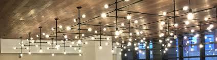 grid lighting for purves street atrium