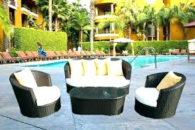 wicker patio furniture. Outdoor Wicker Patio Furniture Set For Clearance
