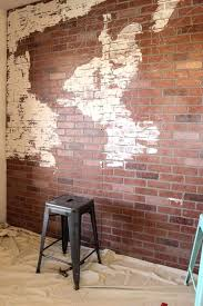 faux brick wall effect panels exposed easy finish how to paint a faux brick wall effect panels exposed easy finish how to paint a