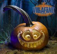 Cool Pumpkin Faces Villafane Studios Home