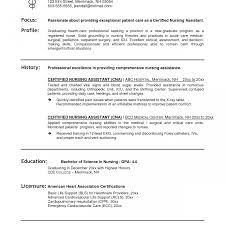 Resume For Cna Position Sample Awesome Phenomenal Sample Resume Cna