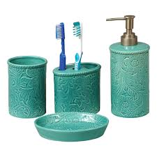 Turquoise Decorative Accessories Turquoise Bathroom Accessories House Decorations 11