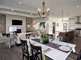 open concept floor plans. Amazing Desig Of The Living Room Areas With Wooden Open Concept Floor Plans White Table R