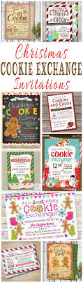 best ideas about christmas party invitations 25 christmas cookie exchange party invitations