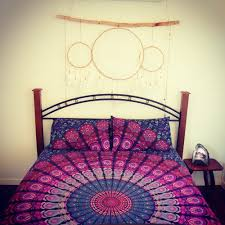 Buy Online Purple Color Indian Hippie Mandala Duvet Doona Cover ... & Purple Color Indian Hippie Mandala Duvet Doona Cover Throw Bedding Quilt  Cover Adamdwight.com