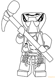 Ninjago Snakes Coloring Pages (Page 1) - Line.17QQ.com
