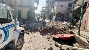 providing relief after Haiti earthquake