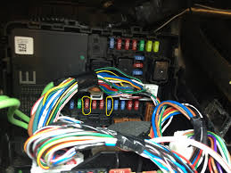 fog light mod re ed page 3 nissan titan forum here are some pic s of the fuse box fuse box diagram and my fancy contraption any help is highly appreciated