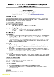 College Resume Templates For High School Students Best Inspirational
