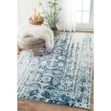 faded persian rug nuloom distressed vintage faded persian blue rug 86 x faded persian carpet zinnia faded persian rug