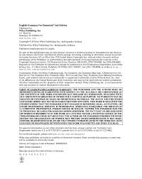 english grammar for dummies jpg cb   dessay lucia