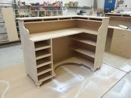 perfect retail reception desk shab chic corner retail reception desk hair beauty salon desk
