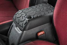 rugged ridge s all terrain center console cover for 1997 2001 jeep wrangler tj protects