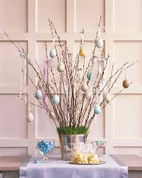 decorating easter eggs for a spring tree martha stewart