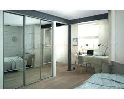 wardrobes 3 white framed mirror sliding wardrobe doors and track kit 3 track sliding wardrobe