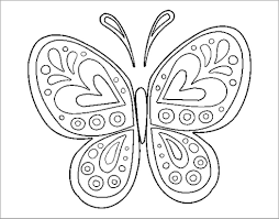 Provide kids these 50 free printable butterfly coloring pages. Butterfly Coloring Pages Printable Coloringbay