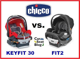 chicco keyfit 30 vs chicco fit2