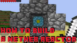 Nether Core Reactor Pattern Classy How To Make A Nether Reactor In Minecraft PE V4884884848 YouTube