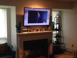 incredible ideas pull down tv mount over fireplace mounting tv over fireplace 109 best mantelmount tv wall mount images