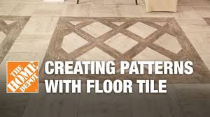 Wood Tile Floor Patterns Unique Creating Patterns With Glazed Porcelain Floor Tile YouTube