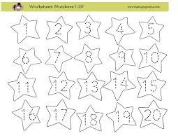 Writing Numbers Worksheet 1 20 - Checks Worksheet