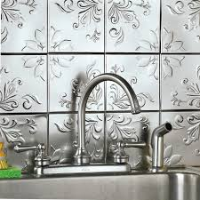 Stick On Backsplash For Kitchen Kitchen Remarkable Peel And Stick Kitchen Backsplash Within