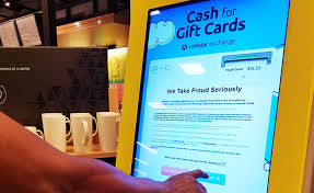 Gift Card Vending Machine Locations Cool What's The FASTEST Way To Get Cash For Gift Cards GCG