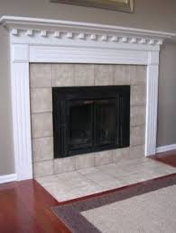 Image Fireplace Hearth Freckles Chic Fireplace After Paint Need To Replace Icky Tile Tile Around Pinterest 49 Best Fireplace Images Fireplace Mantel Fireplace Surrounds