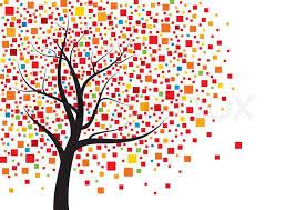 Tree Design Abstract Tree Design Stock Vector Colourbox