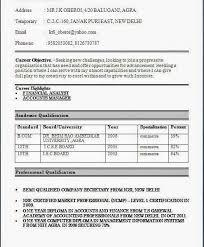 Resume Format For Freshers Bcom Graduate Gentileforda With Regard