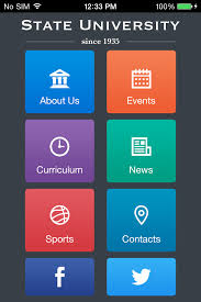 Schools And Universities App Templates Android Iphone Ipad