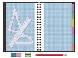Blue Lined Graph Paper Stock Illustrations 331 Blue Lined