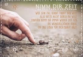 Postkarte Spruch Weisheit Nimm Dir Zeit Sprüche Postkarten