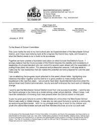 Resignation From Board Manchester Schools Superintendent Bolgen Vargas Resigns