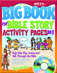 The Big Book Of Bible Story Activity Pages 1 With Cd Rom Big