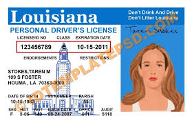 Any… photoshop On License Put You Psd usa Is Louisiana Drivers This Louis… Driver Usa Template State Can Template Novelty