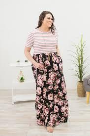Floral Pattern Dress Custom Design Ideas