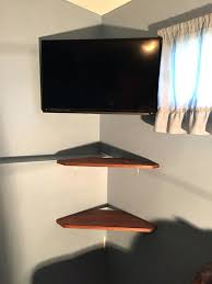 Corner Tv Wall Mounts With Shelves Magnificent Corner Tv Wall Mount Ideas Corner Mount And Shelves Wall Mount Tv