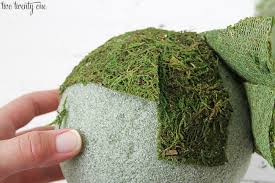 Decorating With Moss Balls How to Make Moss Covered Balls 59