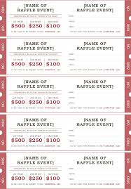Fundraiser Ticket Template Free Download Stunning Raffle Ticket Template 48 Positively Printable Pinterest