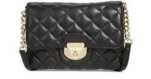 Lyst - Calvin klein Quilted Crossbody Bag in Black &  Adamdwight.com