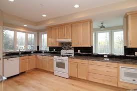 Kitchens With White Appliances And Maple Cabinets