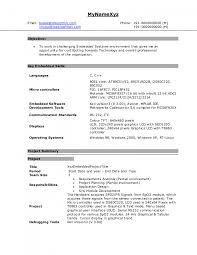 ece sample resumes template ece sample resumes