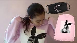 Unboxing Ariana Grande Merch
