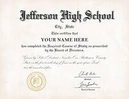 High School Deploma Us High School Diploma Style 1 Buy Diploma Online