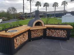 Wood Oven Design Outdoor Corner Kitchen By Love Outdoor Kitchens Pizza Oven