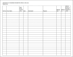 Vehicle Log Book Format Log Book Template Fault Report Word Awesome Motor Vehicle