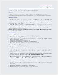 Sample Resume For Experienced Linux System Administrator Popular