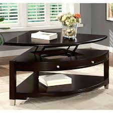 pie shaped coffee table liberty lift top pie shaped coffee table pie shaped lift up coffee